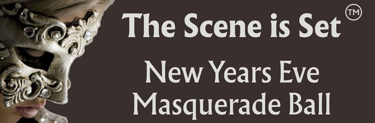 Banner for New Years Eve - Masquerade Ball